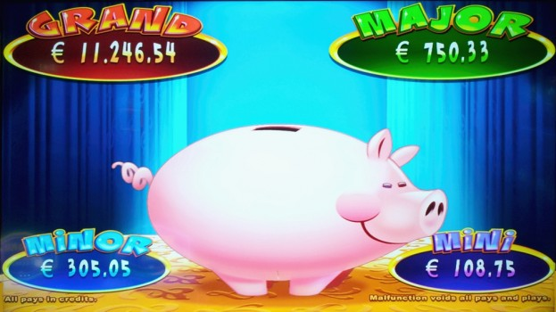 Slot machine Jackpot Piggy