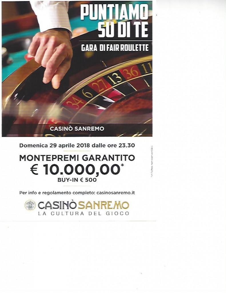 Torneo Fair Roulette DO 29042018 20180416